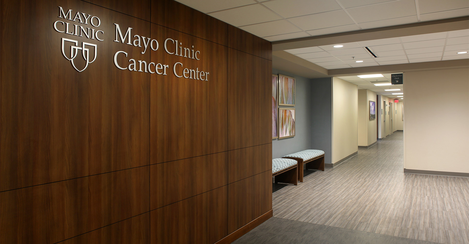 Rendering of Mayo Clinic Cancer Center.