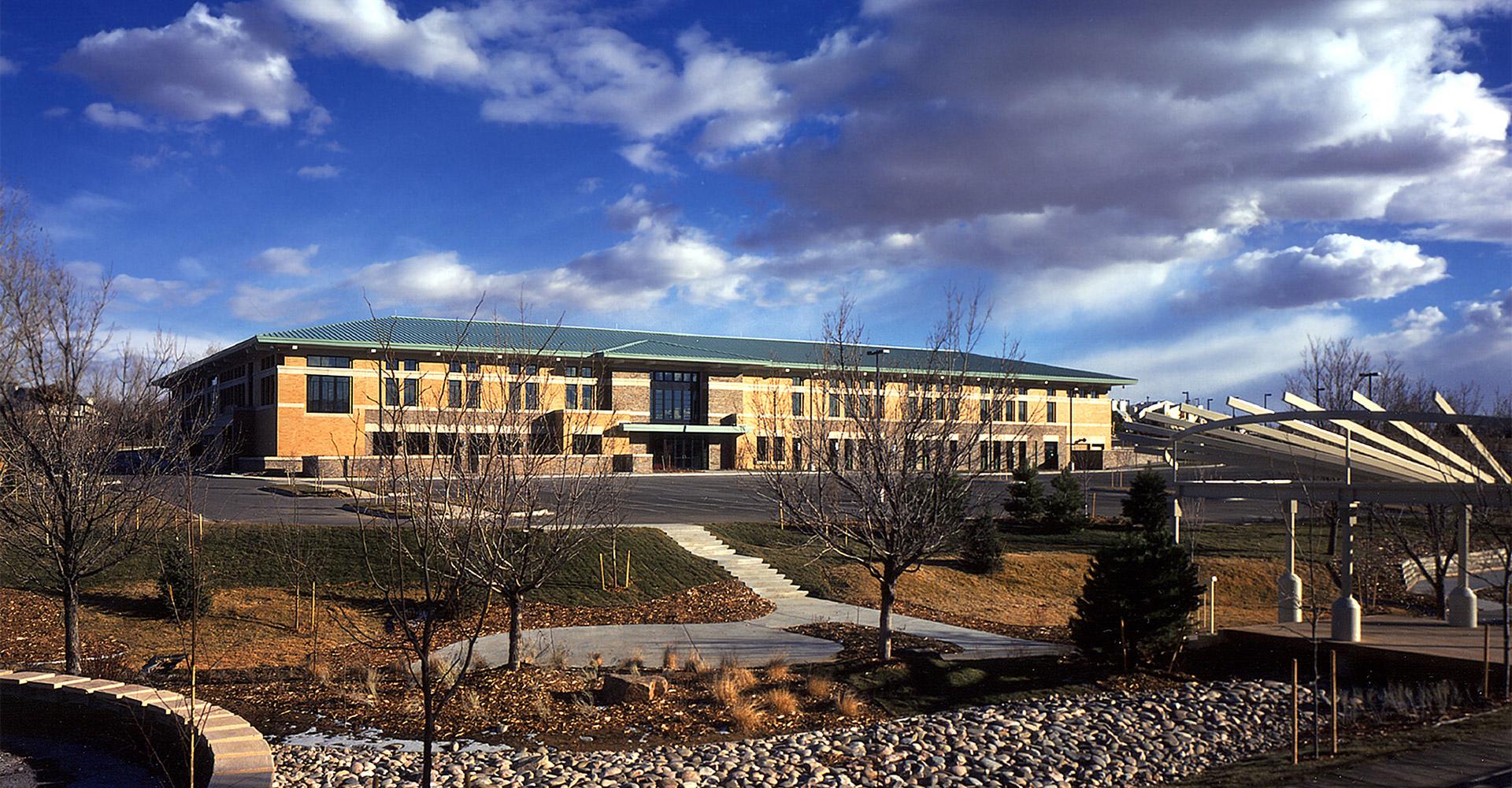 Exterior of Denver ADT call center.