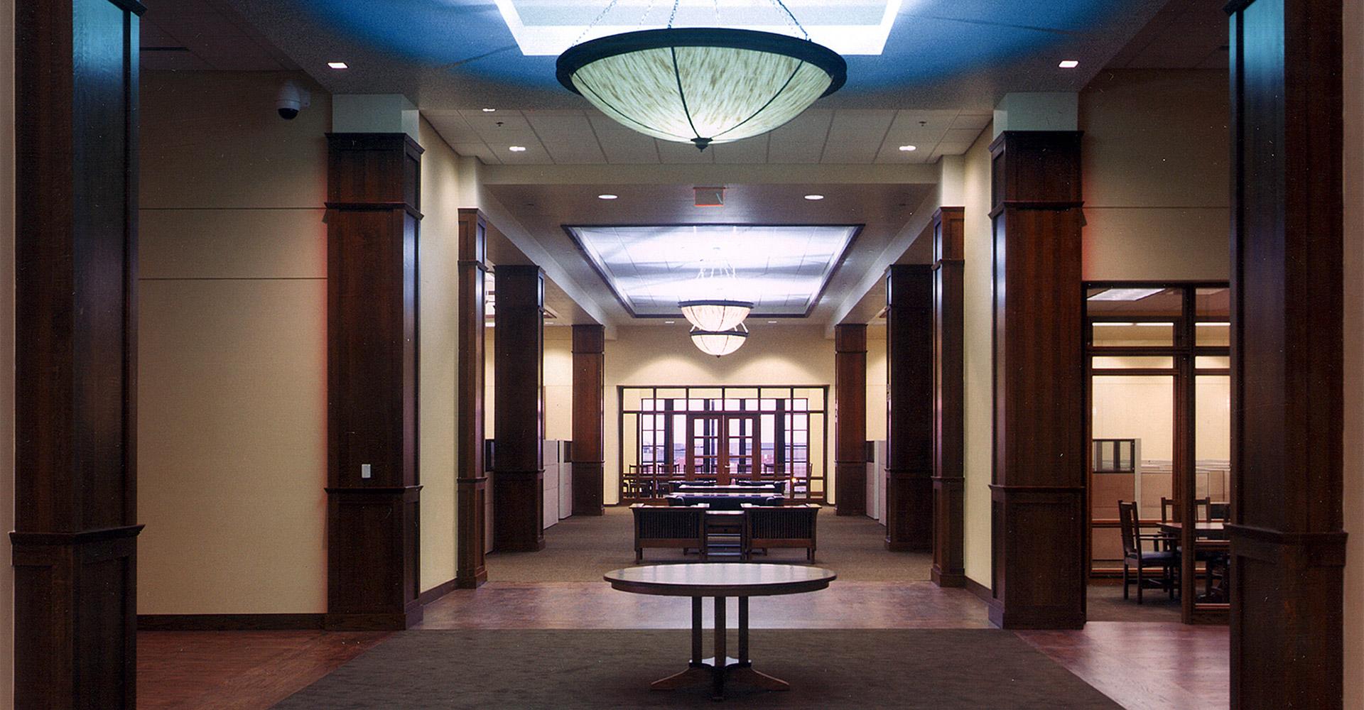 Interior of ADT Denver office.