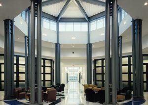 Interior rotunda - ADT building.