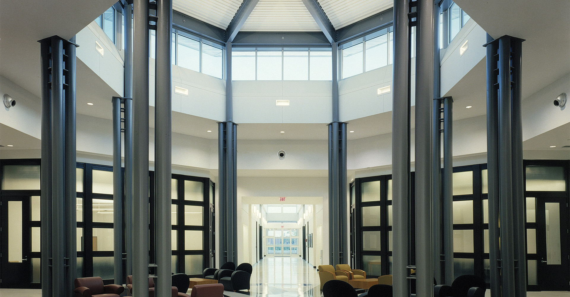 Interior rotunda - ADT building.