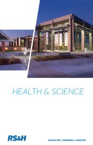 Health & Science practice brochure.