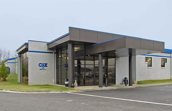 Exterior of CSX REDI Facility.