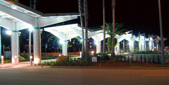 Exterior of Daytona Beach International Airport.