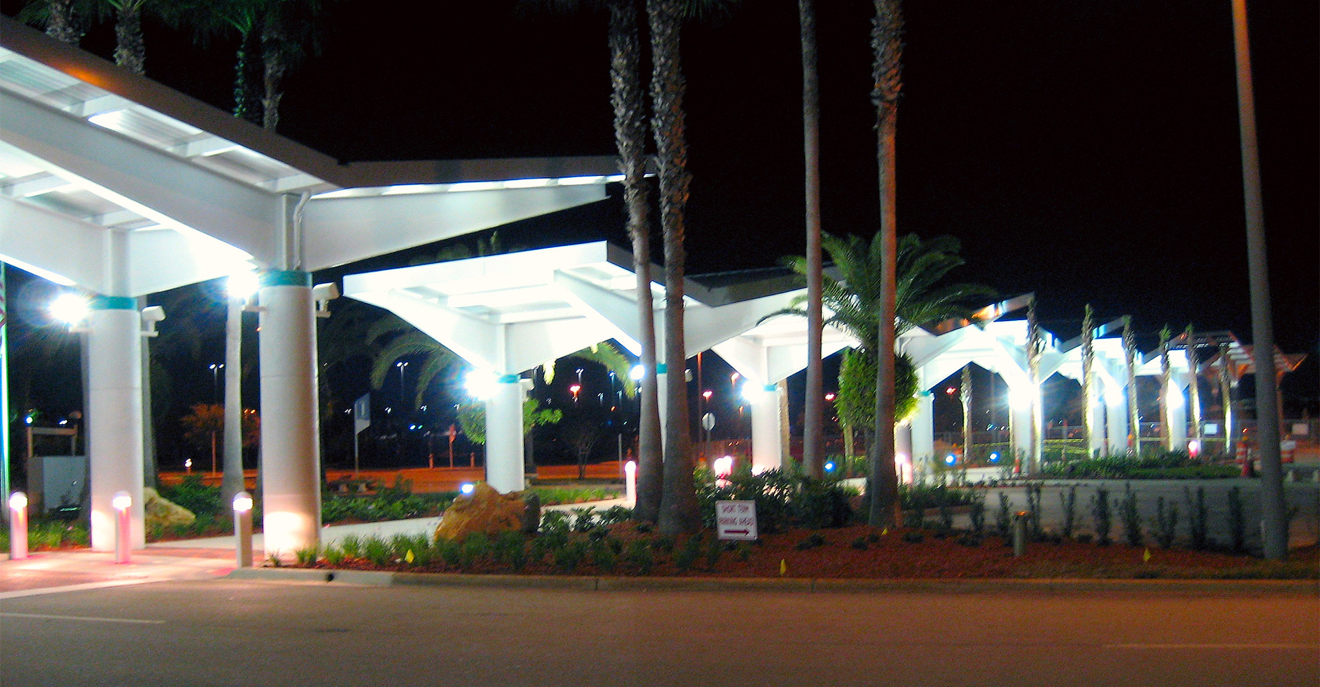 Exterior of Daytona Beach International Airport.