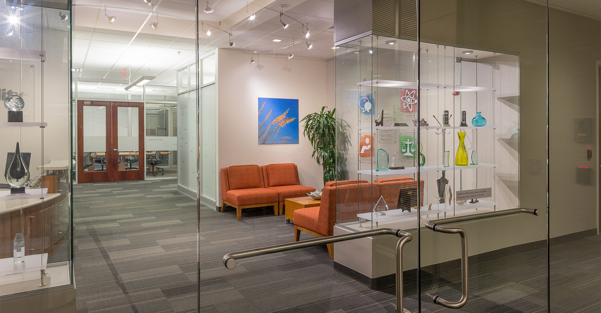 Interior of Availity building.