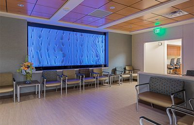 Interior of Texas Oncology.