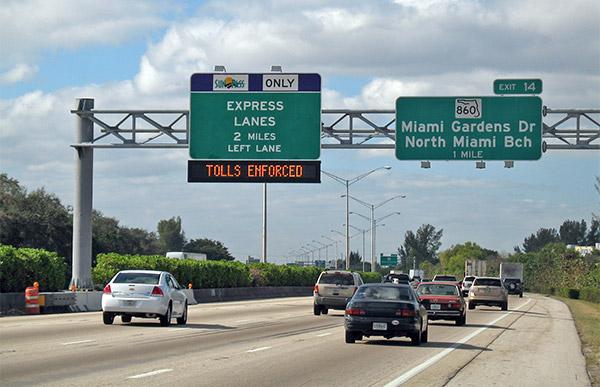 95 Express Lanes.