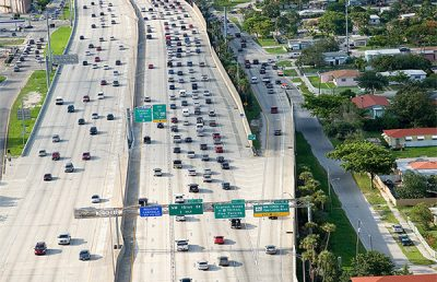 I-95 Expressway in Broward county.