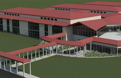 Antilles Elementary School exterior.