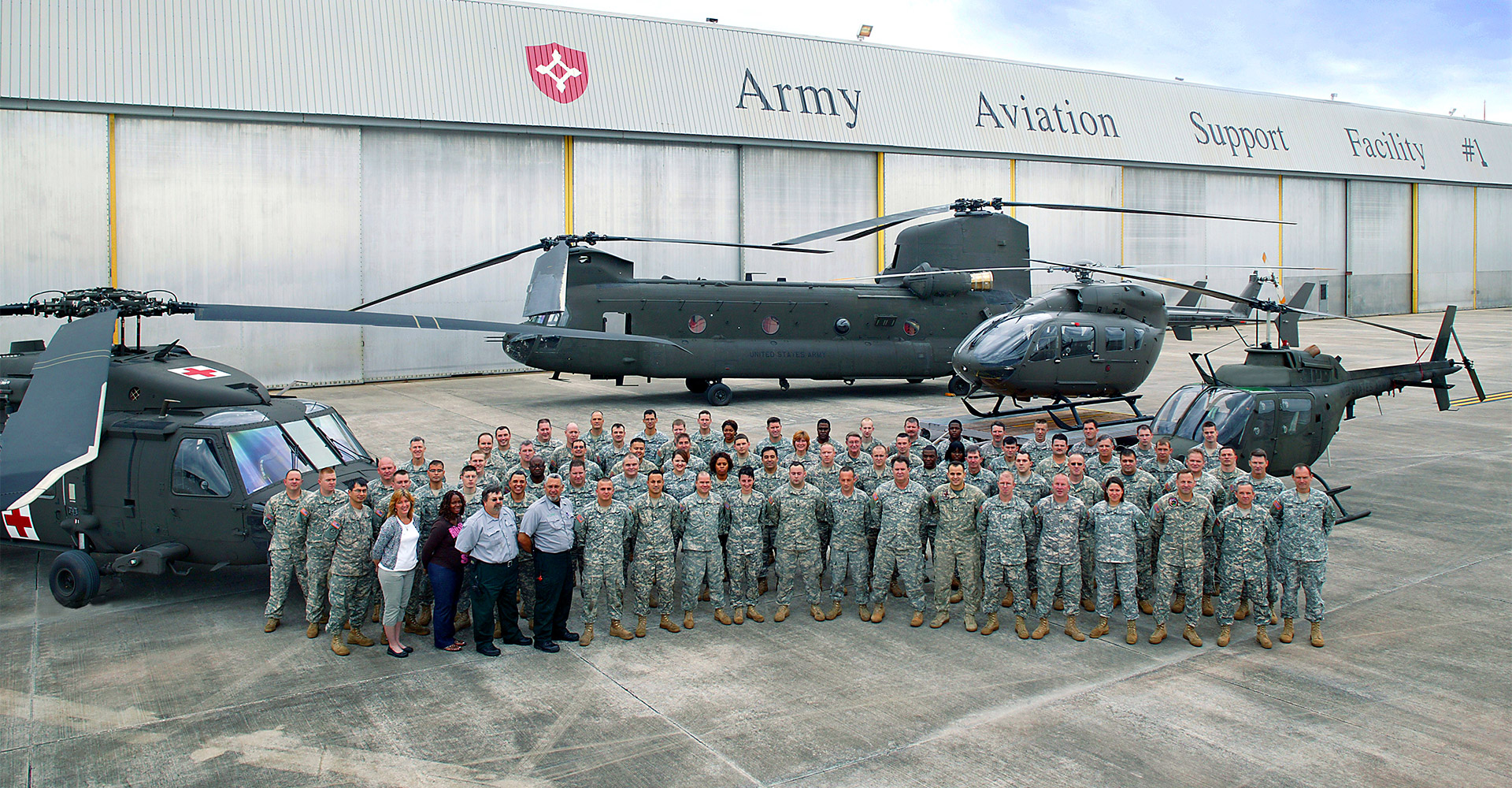 Army Aviation Support Facility.