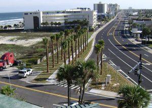 Atlantic Avenue-Silver Beach Avenue Intersection.