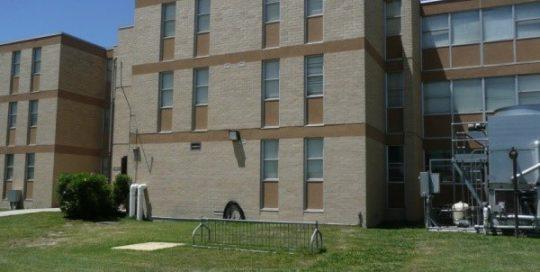 Fort Sam Houston Barracks.