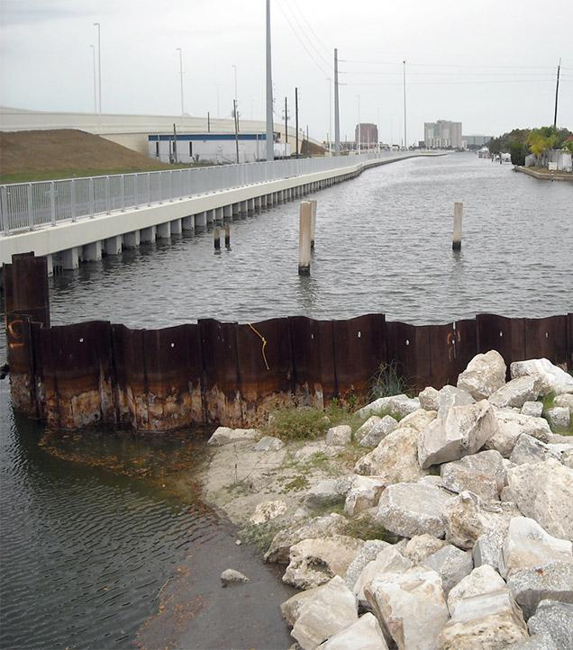 Dana Shores and Fish Creek Bridges.