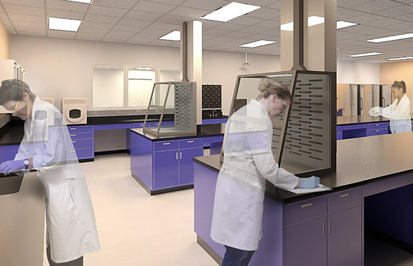 Laboratory planning and design.