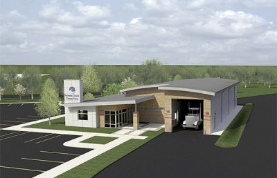FSCJ Commercial Vehicle Facility 3D view.
