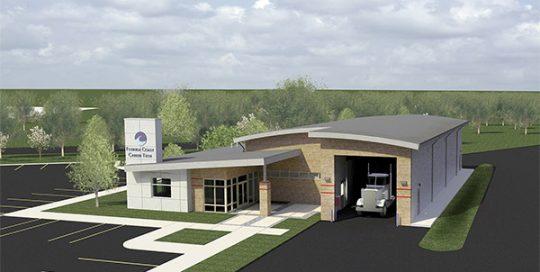 FSCJ Commercial Vehicle Facility 3D view.