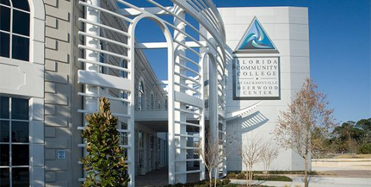 FSCJ Deerwood Center exterior.