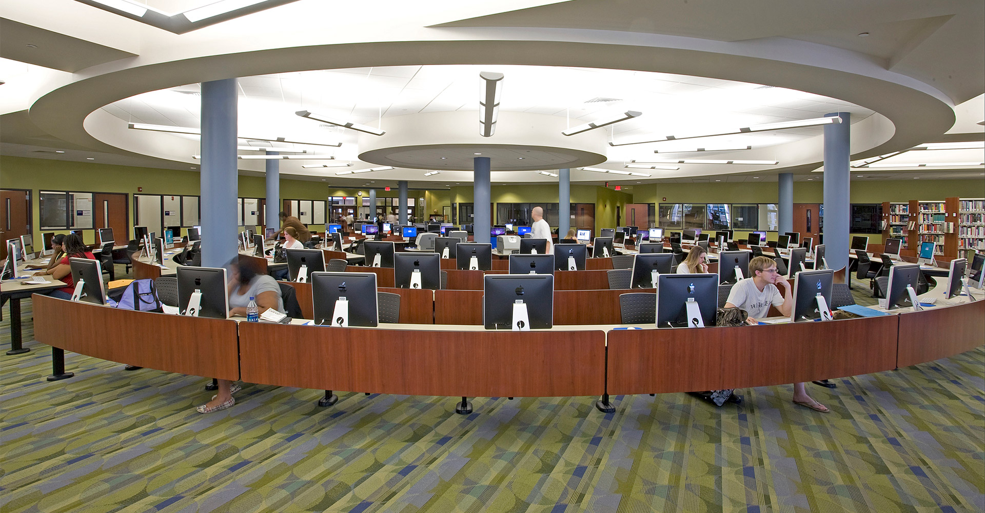 FSCJ Deerwood campus media center.