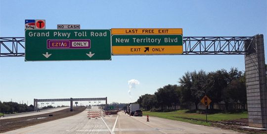 Fort Bend Grand Parkway Toll Operations.