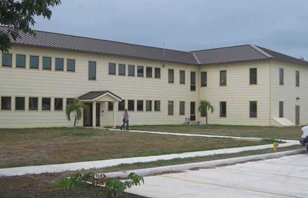 Exterior of building M-207.