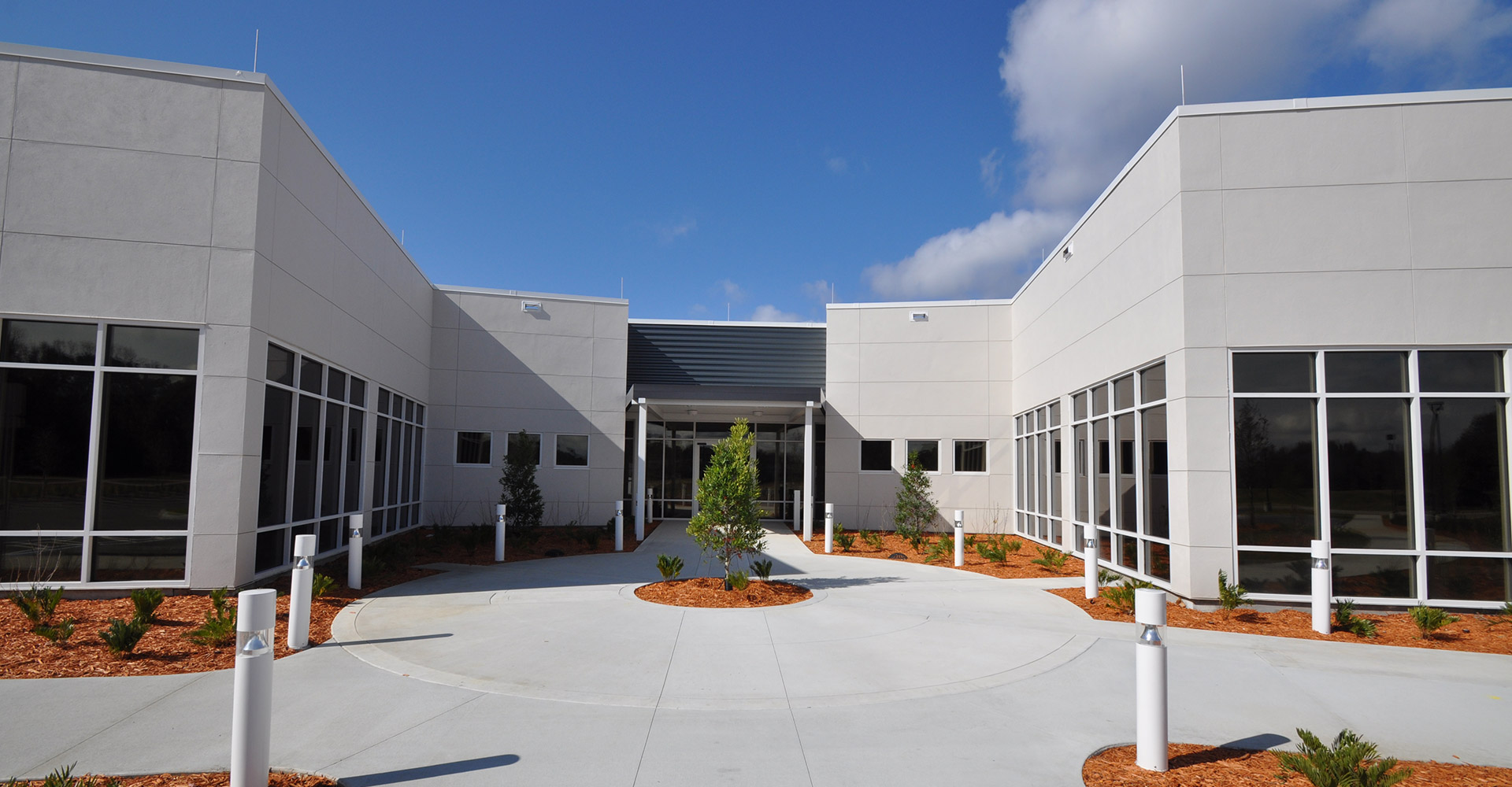 RTI Facility Exterior Entrance.