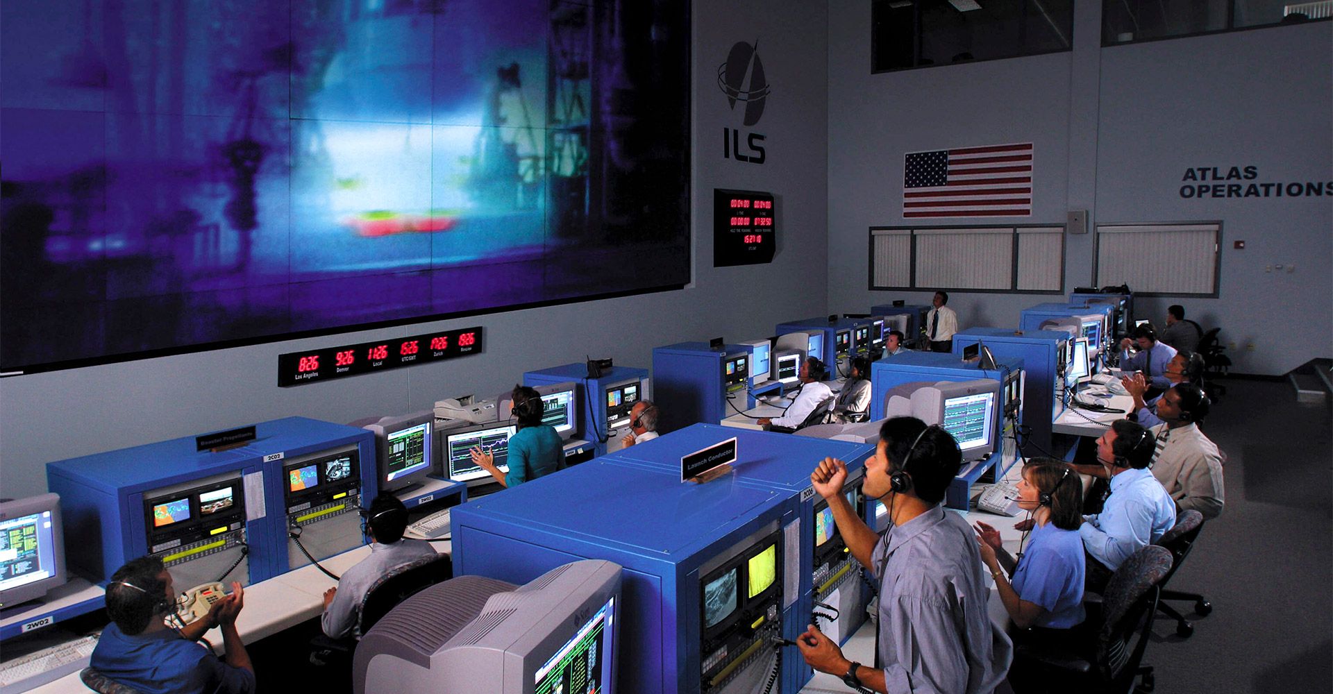 Space operations center.