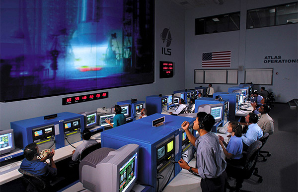 Atlas V operations center.