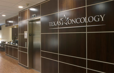 Round Rock Cancer Center Lobby.