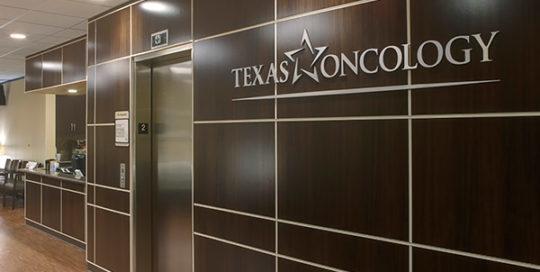 Round Rock Cancer Center Lobby.