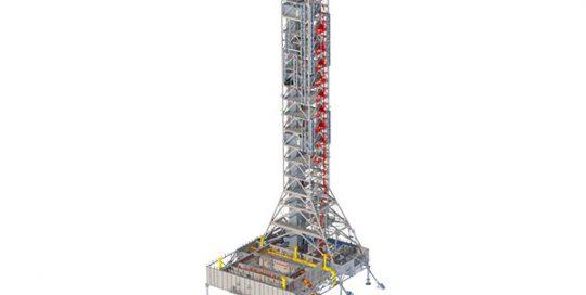 SLS Mobile Launcher Rendering.