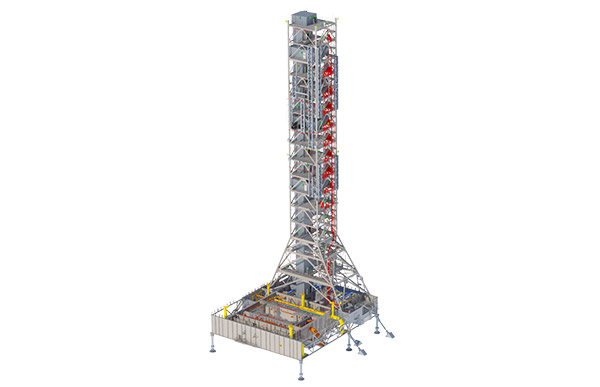 SLS Mobile Launcher Rendering.