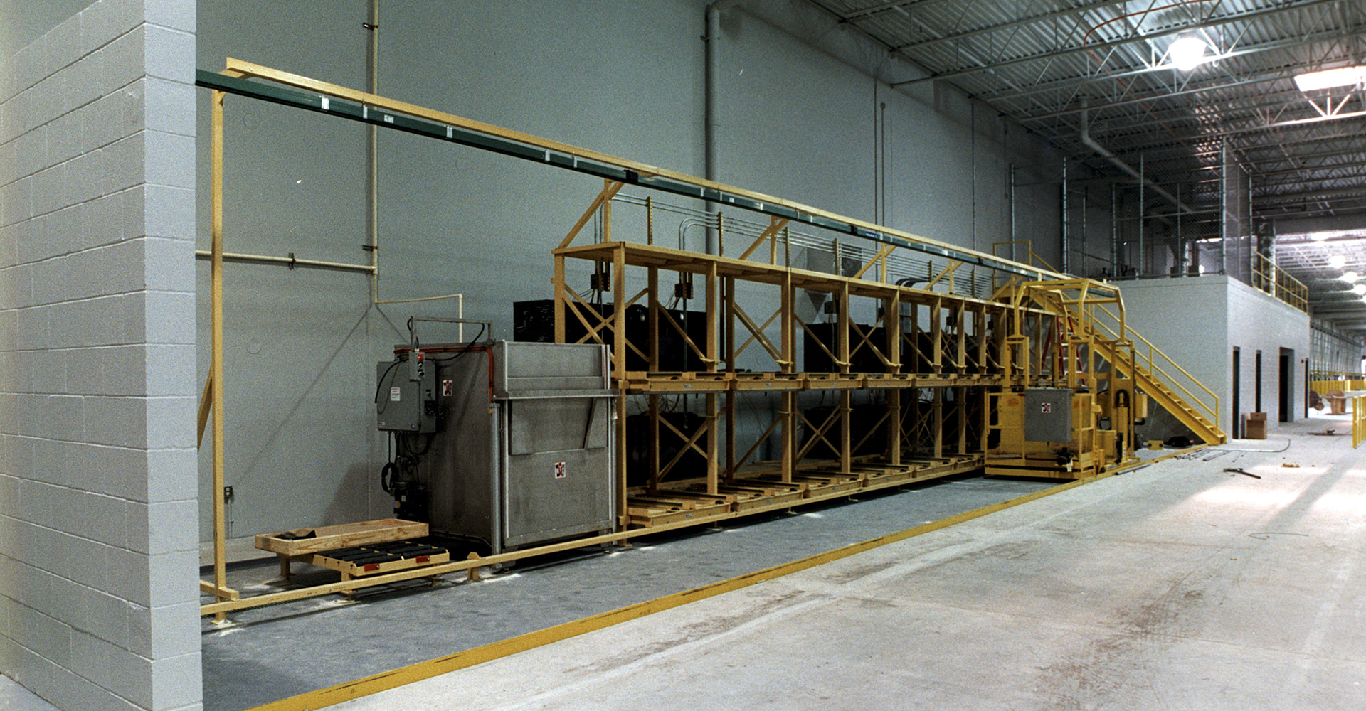 SPO Distribution Center Interior.