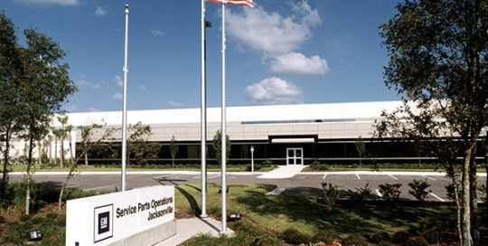 SPO Distribution Center Exterior.