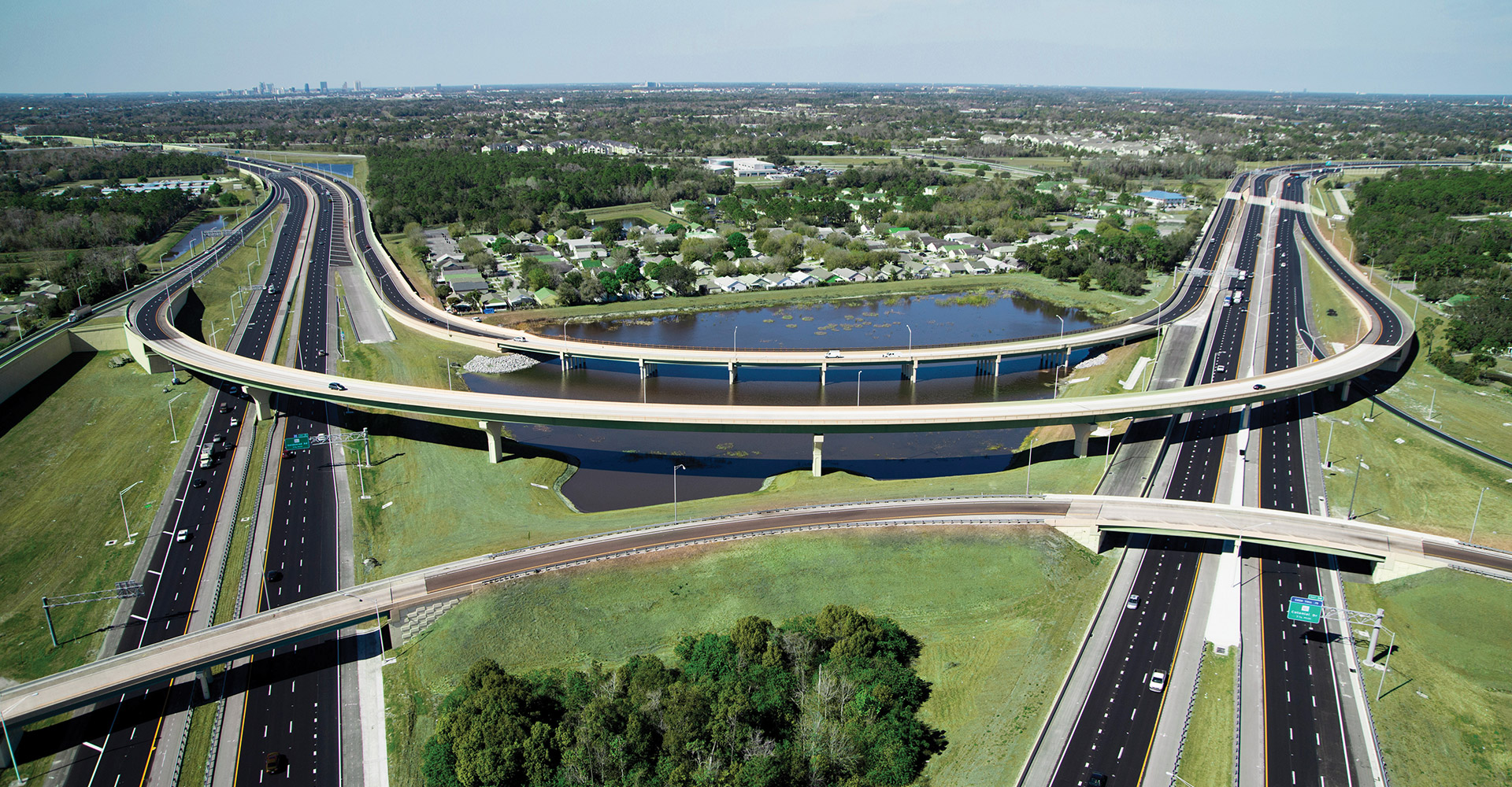 SR408 417 Interchange rendering.