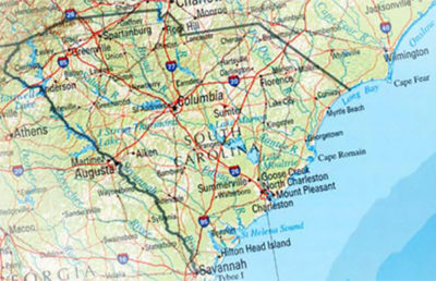 South Carolina SCDOT.