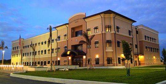 Special Operations Command Building Exterior.
