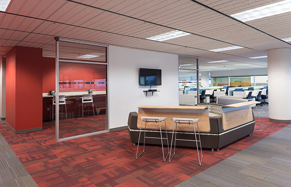 SunGard AvantGard interior seating.