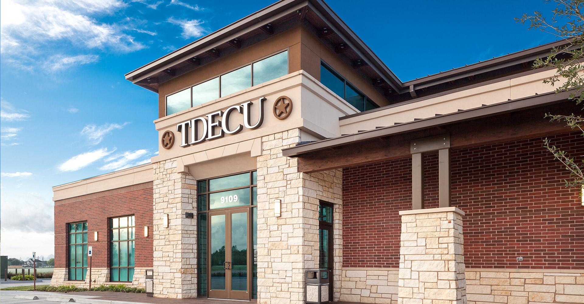 TDECU Retail Center exterior.