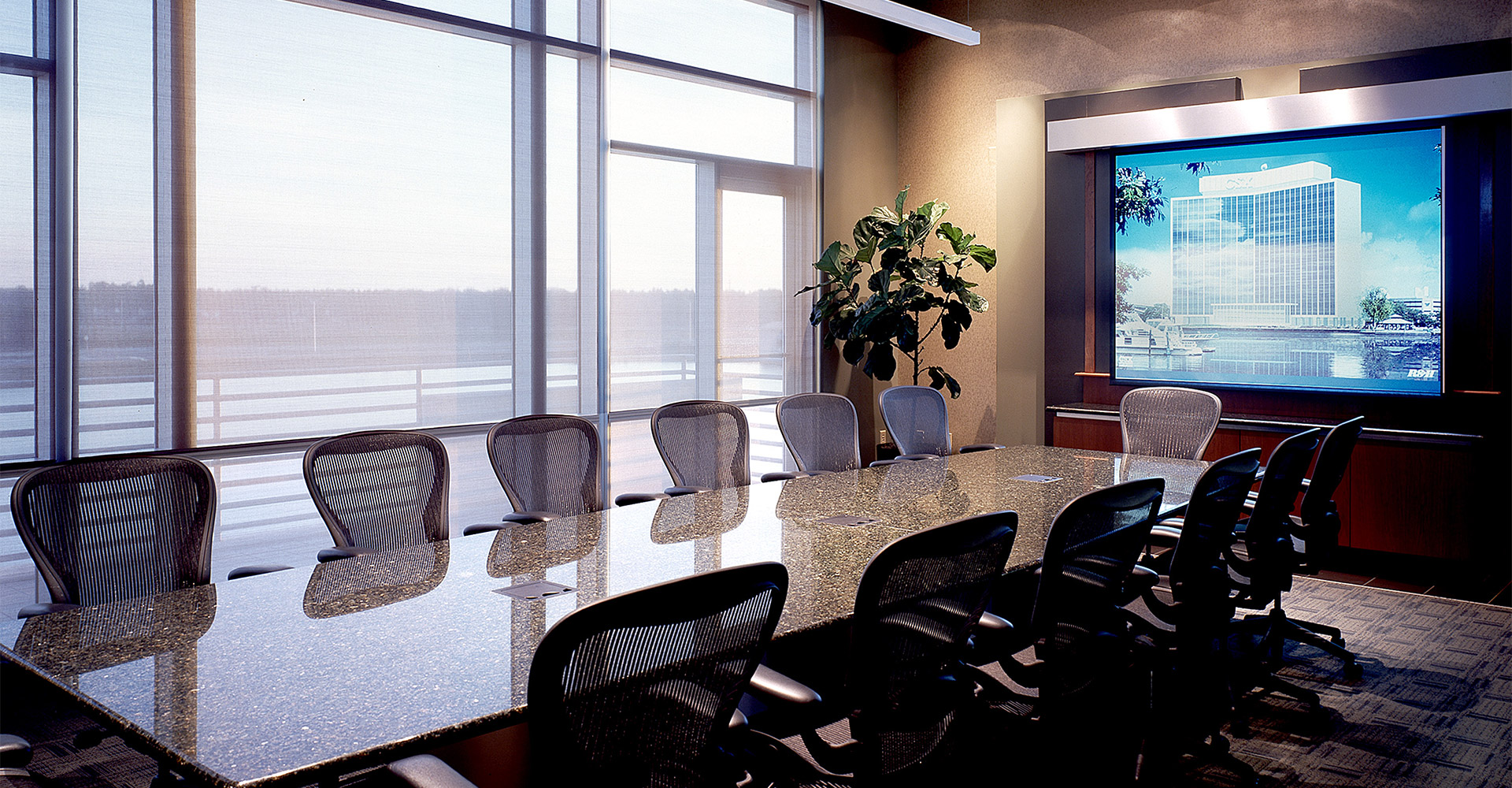Waterview Office Development Conference Room.