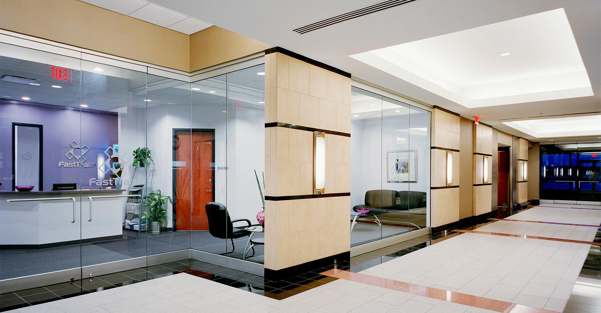 Waterview Office Development Lobby.
