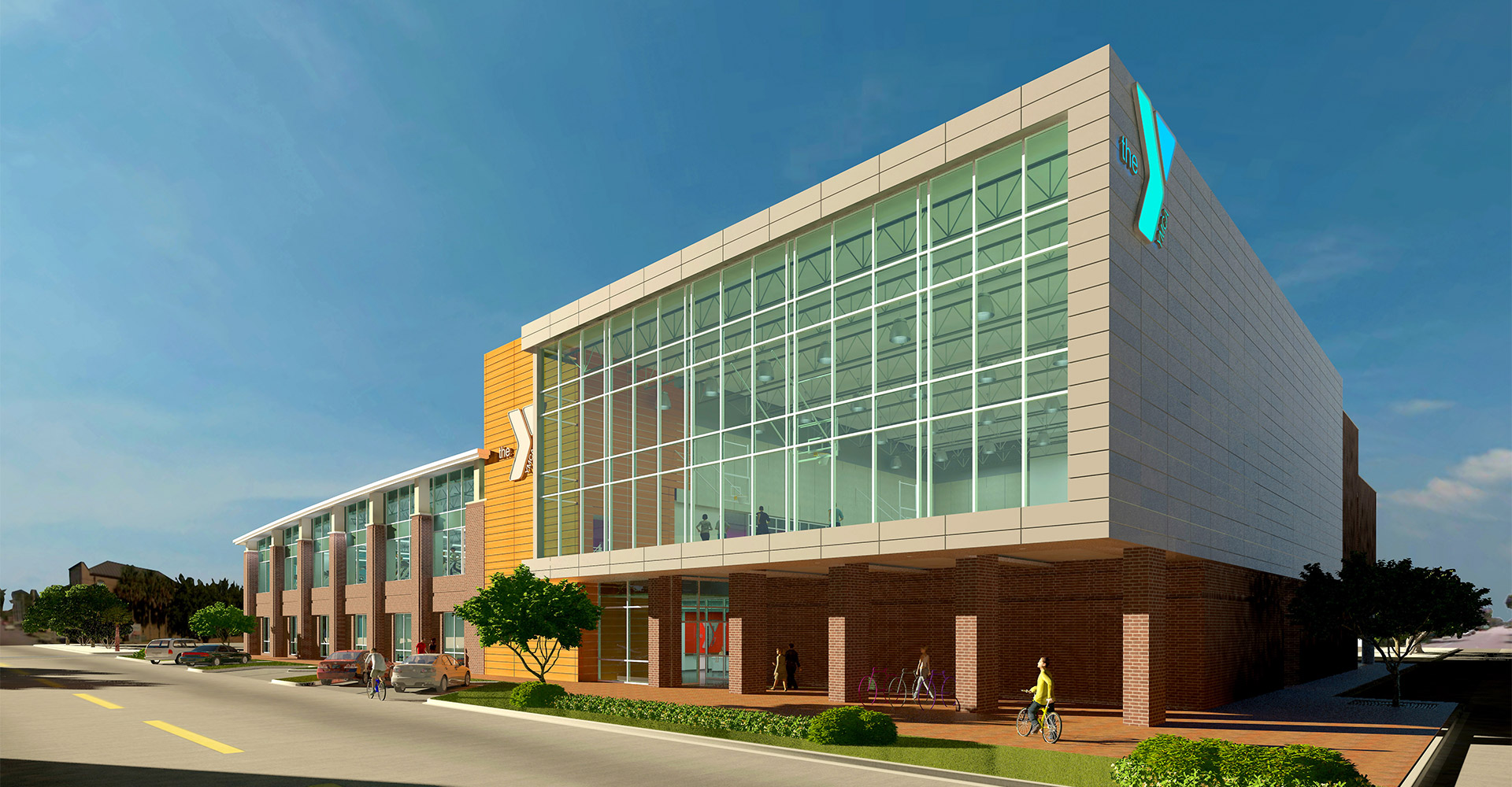 YMCA Pensacola exterior.