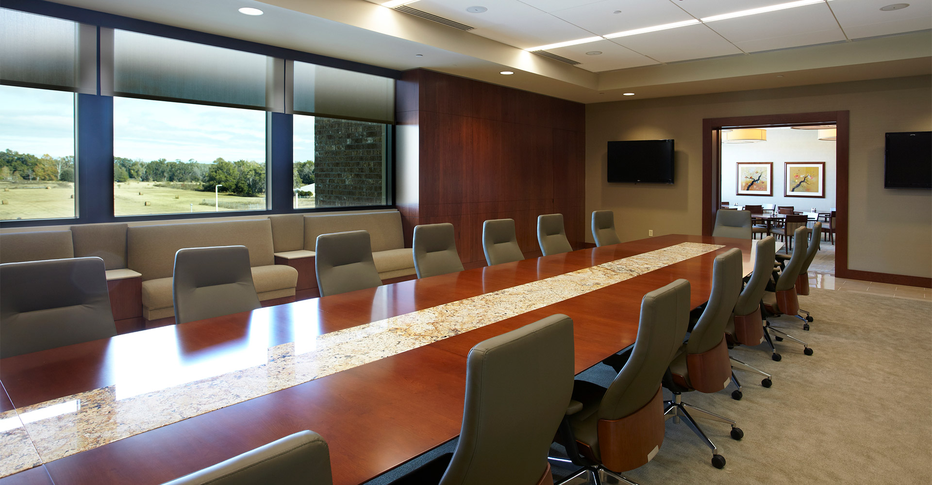 Campus USA Headquarters conference room.