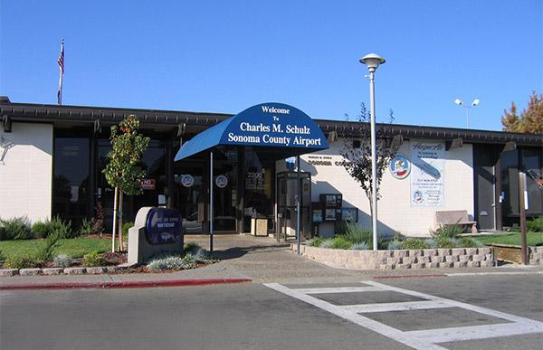 Charles M. Shulz-Sonoma County Airport.