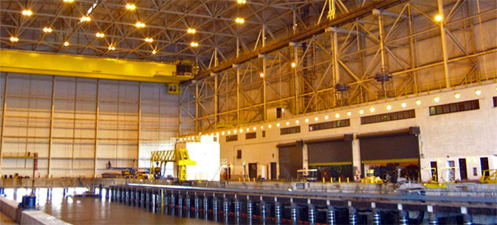 Explosive Handling Wharf 2 Repairs, Naval Submarine Base