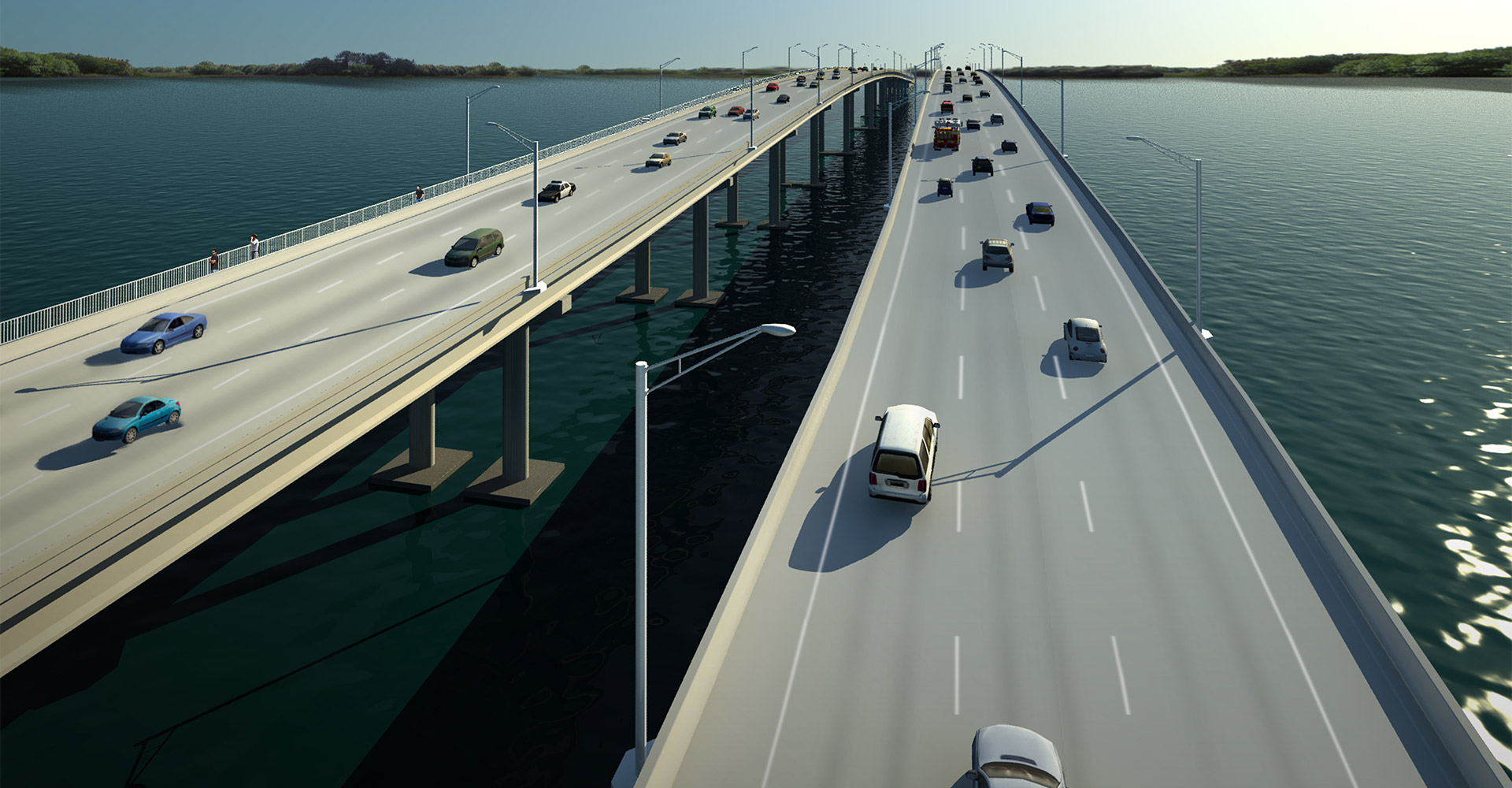 Rendering of First Coast Expressway