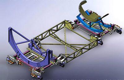 First Stage Orbiting Vehicle Pallet Transporter.