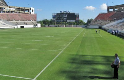 Florida Citrus Bowl Underfield Drainage System.