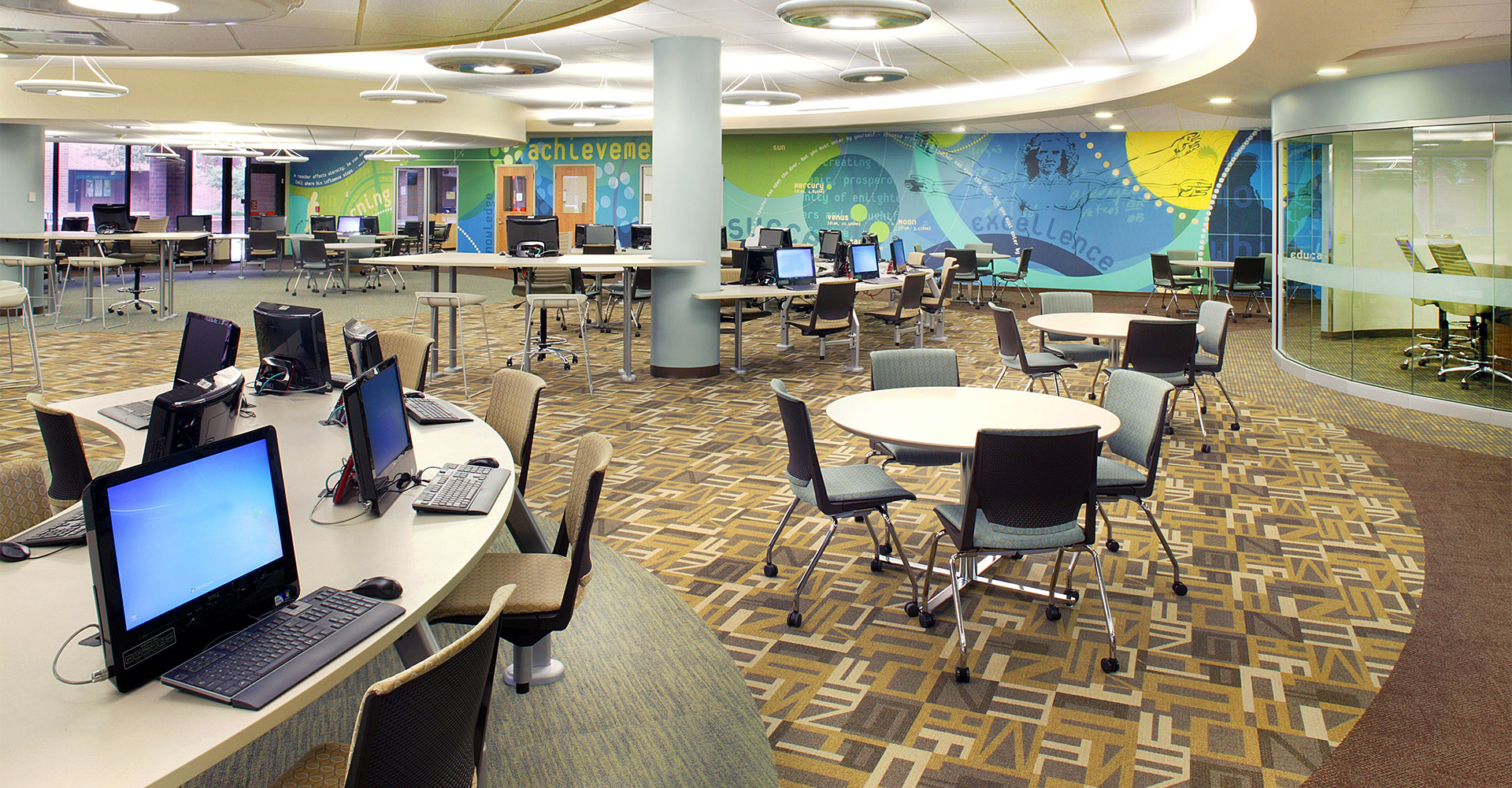 Interior of FSCJ Kent Campus.