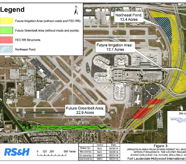 Fort Lauderdale Hollywood Airport Terminal Info: Ft. Lauderdale Hollywood Airport Rainwater Harvesting
